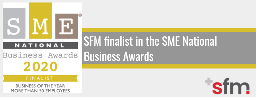 August 2020 - SMEs National Business Awards Finalist